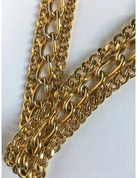 Vintage Gold Chain Belt Jewel Belt by Etsy