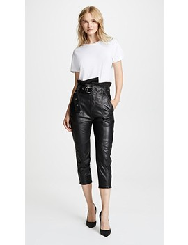 Anniston Leather Pants by Marissa Webb