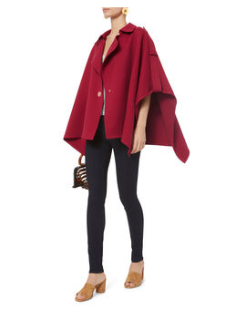 Red Trench Cape by See By Chloé