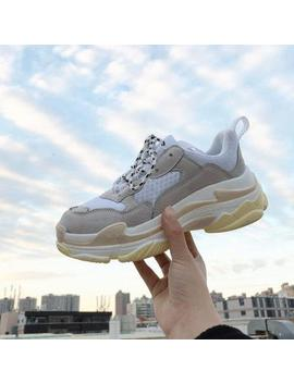 Women's Chunky Sneakers 2018 Fashion Basket Women Platform Shoes Casual White Woman Trainers Vulcanize Dad Shoes Tenis Feminino by Fooraabo