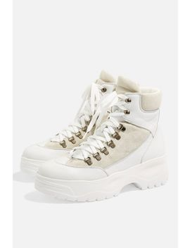 Ants Biker Boots by Topshop