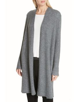 Cashmere Silk Blend Open Cardigan by Eileen Fisher