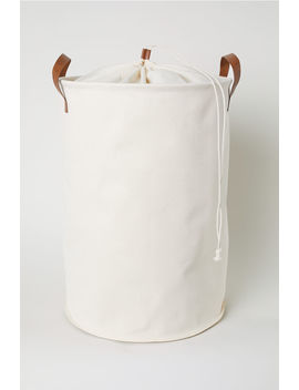 Cotton Twill Laundry Bag by H&M
