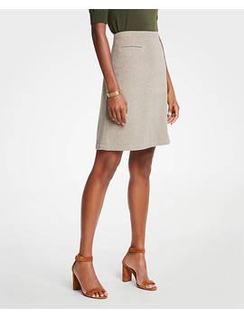 A Line Pocket Skirt by Ann Taylor