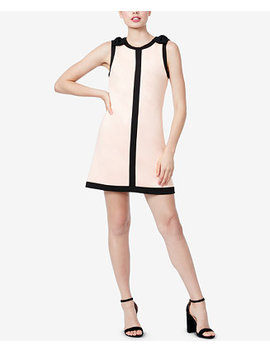 Bow Shoulder Shift Dress by Betsey Johnson