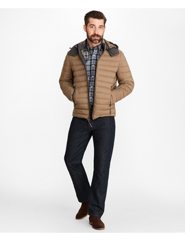 Down Fill Puffer Jacket by Brooks Brothers