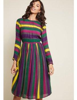 Compania Fantastica Uniquely Impactful Midi Dress by Compania Fantastica