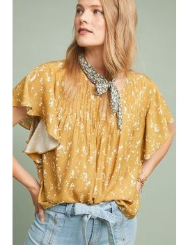 Cheerful Silk Blouse by Dolan Left Coast