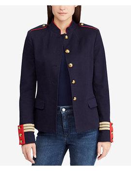 Jacquard Officer Jacket by Lauren Ralph Lauren