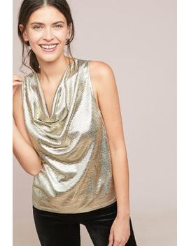Shine Cowl Neck Top by Sunday In Brooklyn