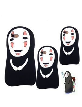 Spirited Away No Face Man Soft Silicone Phone Case Cover For I Phone X/5/6 S/7/8 P by Ebay Seller