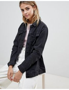 Jdy Ashley Oversized Denim Jacket by Jdy