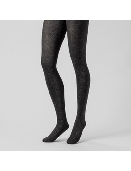 Women's Plaid Tights   A New Day™ Black by A New Day™