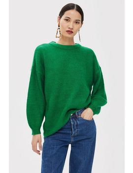 Petite Oversized Jumper by Topshop
