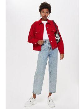 Petite Corduroy Boxy Jacket by Topshop