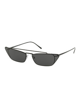 Slim Cat Eye Metal Sunglasses by Prada