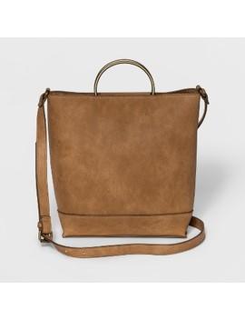 Ring Handle Crossbody Bag   Universal Thread™ Cognac by Universal Thread™