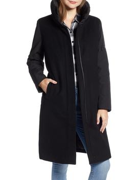 Quebec Wool Blend Down Coat by Pendleton