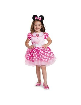 Toddler Girls' Minnie Mouse Halloween Costume Pink by Mickey Mouse & Friends