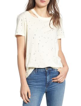 Zander Distressed Spatter Tee by N:Philanthropy