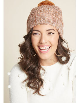 Wait And Ski Knit Hat by Modcloth