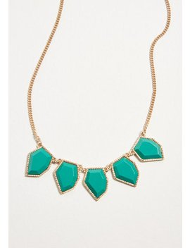 Notice Taken Statement Necklace by Modcloth