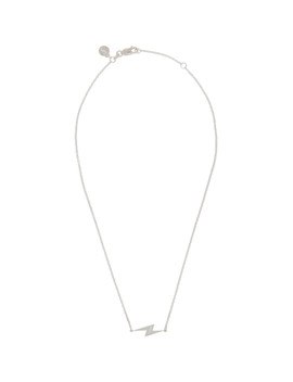 Silver Side Shock Pendant Necklace by Stolen Girlfriends Club