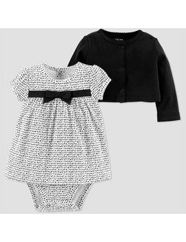 Baby Girls' 2pk Dot Dress Set   Just One You® Made By Carter's Black by Just One You Made By Carter's