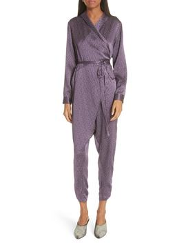 Forward Silk Jumpsuit by Rachel Comey