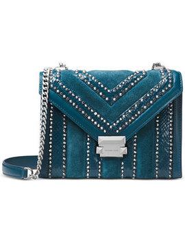 Whitney Embellished Shoulder Bag by Michael Michael Kors