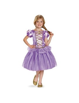 Toddler Girls' Disney Princess Rapunzel Classic Halloween Costume 3 T 4 T by Disney Princess