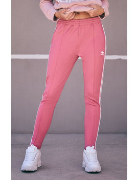 Adidas Pink Superstar Track Pants by Pacsun