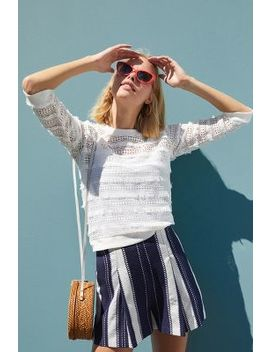Lucier Fringed Top by Pepin