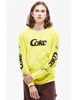 Pac Sun X Coca Cola Ribbon Long Sleeve T Shirt by Pacsun