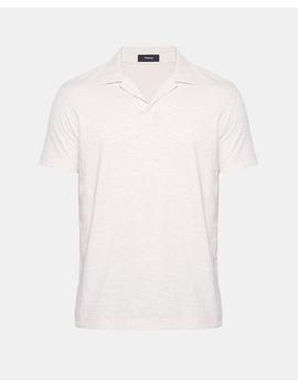 Cotton Open Collar Polo by Theory