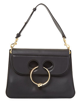 J.W. Anderson Pierce Flap Top Leather Shoulder Bag by J. W. Anderson