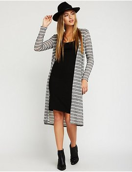 stripe-open-front-cardigan by charlotte-russe
