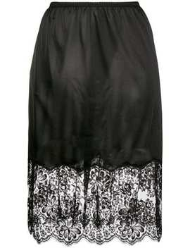 Stella Mc Cartneyflared Lace Skirthome Women Stella Mc Cartney Clothing Straight Skirts by Stella Mc Cartney