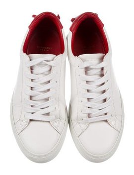 Givenchy Leather Low Top Sneakers by Givenchy
