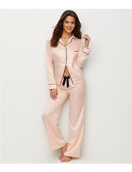 Abigail Satin Pajama Set by Bluebella