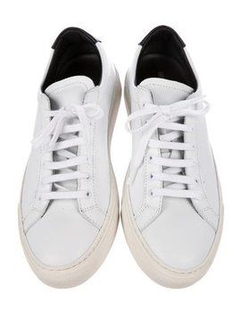 Woman By Common Projects Achilles Retro Low Top Sneakers W/ Tags by Woman By Common Projects