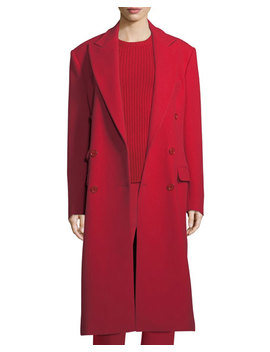 Brandon Double Breasted Wool Coat by Ralph Lauren Collection