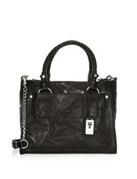 Demi Leather Satchel Handbag by Frye
