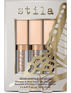 Shimmering Heights Shimmer & Glow Liquid Eyeshadow Set by Stila