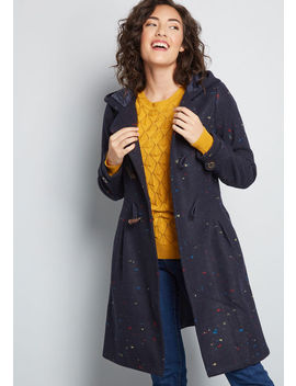 Set For The Solstice Coat by Modcloth