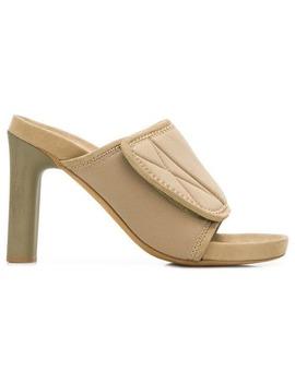 Block Heel Sandals by Yeezy