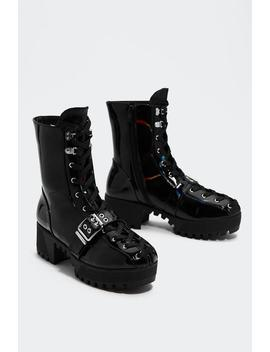 Stomping Ground Chunky Boot by Nasty Gal