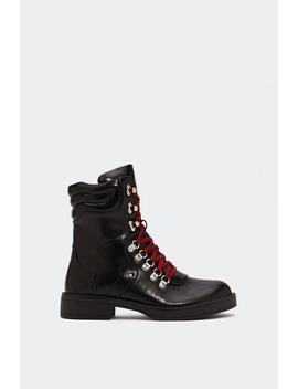 Beat It Chunky Boot by Nasty Gal