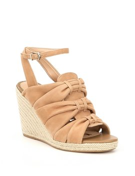 Awan Suede Espadrille Wedge Sandals by Sam Edelman