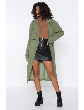 Got It Covered Longline Trench by Nasty Gal